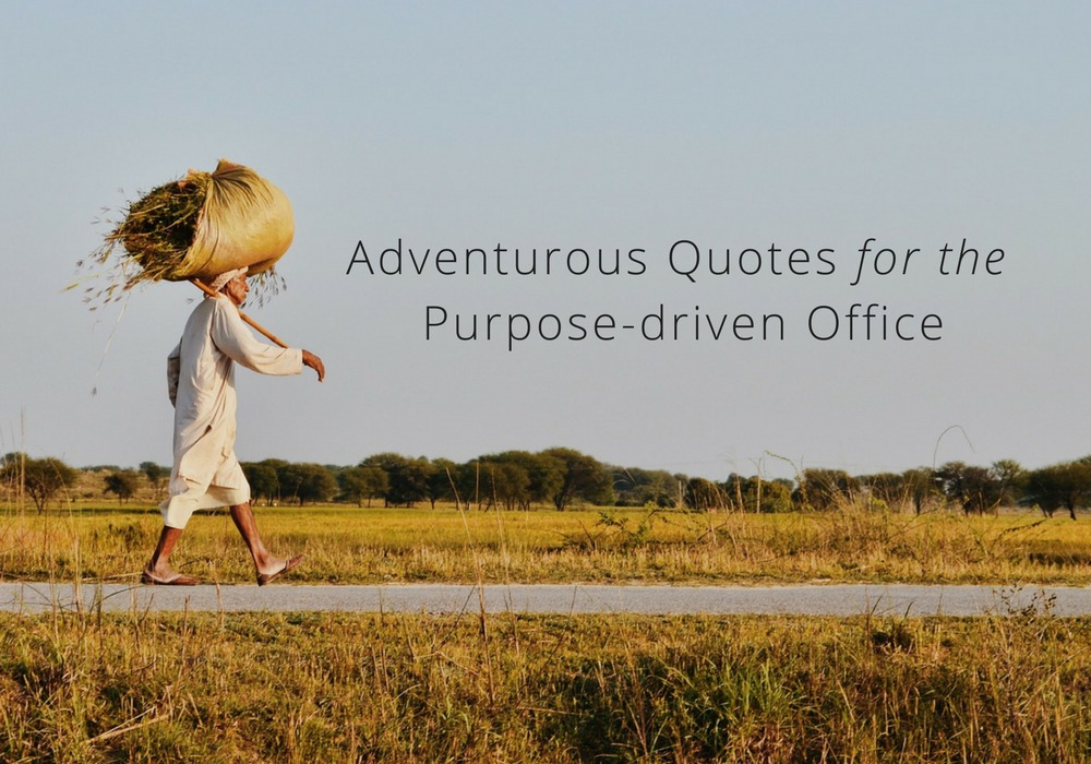 Adventure Quotes Worthy Of The Wall For A PurposeDriven Impressive Purpose Quotes